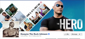 Dwayne Johnson FB