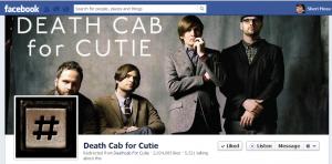 deathcab FB page