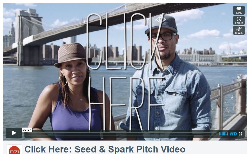 Click Here pitch video