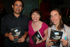 Jon Sheri Orly at the NYC book signing
